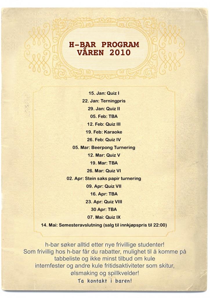 program våren 2010 musikk 2